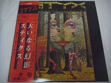 STYX-Grand Illusion JAPAN 1st.Press w/OBI Boston Kansas Journey TOTO Genesis