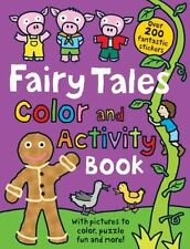 Fairy Tales Color and Activity Book