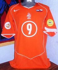 NIKE HOLLAND NETHERLANDS EURO2004 KLUIVERT VS CZECH ORIGINAL JERSEY SHIRT