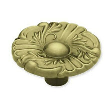 """P74580-AB  1 1/2"""" Antique Brass Provincial Cabinet Drawer Knob Pull"""