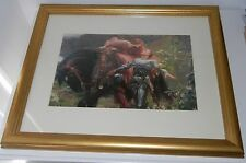 PROFESSIONALLY FRAMED ROMANTIC RENASCENCE PICTURE