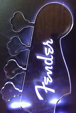 FENDER 'P' BASS HEADSTOCK ILLUMINATED