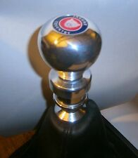 JAGUAR X-TYPE MANUAL  ALLOY GEAR KNOB+JAGUAR GROWLER LOGO  NEW