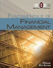 Fundamentals of Financial Management. Brigham Houston. Concise 8th USA Edition