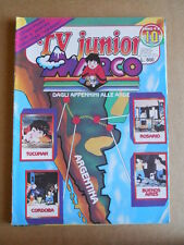TV JUNIOR n°10  1982 Galaxy 1999 Marco ed. ERI RAI  [G419A] difettato
