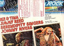 TINA TURNER JIMMY REED SERENDIPITY SINGERS disco LP 33 GRANDE STORIA ROCK 48