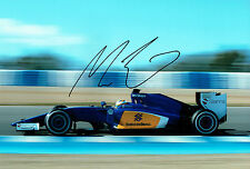 Marcus ERICSSON SIGNED Autograph Sauber Swedish Race Driver Photo AFTAL COA