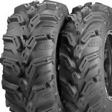 NEW ITP MUDLITE 25 XL  ATV TIRES SET 8 AND 12 INCH WIDE