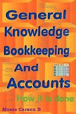 General Knowledge Bookkeeping and Accounts-ExLibrary