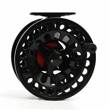 Maxcatch Fly Reel Die-Casting 3/4 Fly Fishing Reel Aluminium Black