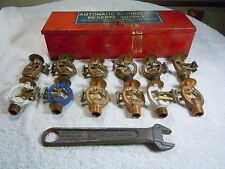 Automatic  Sprinkler Corp. Heads Set Fire Protection  12 38B heads, box, wrench