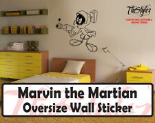 Looney Tunes - Duck Dodgers Marvin the Martian Custom Vinyl Sticker