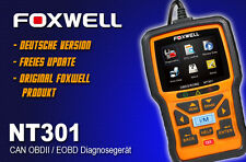 Original Foxwell NT301 OBD 2 CAN EOBD Diagnosegerät Tester VW Audi MB Toyota