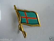 PINS,SPELDJES 50'S/60'S COUNTRY FLAGS 37 ICELAND VINTAGE VERY OLD VLAG