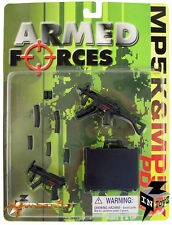"InToyz Armed Forces 1/6 Scale H.K. PDW, MP5K W/CARRYING CASE for 12"" Figure"