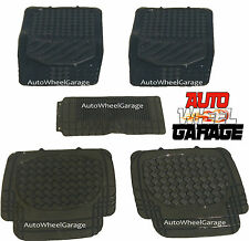 Premium Quality Anti-Slip Rubber Silicone Floor Mats for Renault Fluence- 5pc