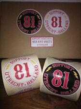 Hells Angels Utrecht Holland Support 81 stickers set of 3