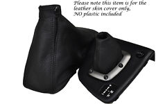 BLACK STITCH FITS ALFA ROMEO 156 SELESPEED LEATHER GEAR & HANDBRAKE GAITERS ONLY