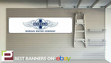 Morgan Motor Company Workshop Garage Banner, Aero8, plus 4, plus 8