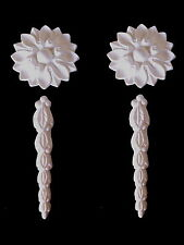 DECORATIVE MOULDINGS FLOWER PETAL DRAPES  FIREPLACE CUPBOARDS MIRRORS  RESIN
