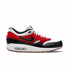 Nike Air Max 1 Essential SZ 9.5 White Black Gamma Orange 537383-122