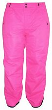 New Pulse Womens Plus Size Snow Ski Skiing Pants PINK 3X 22W Insulated $125