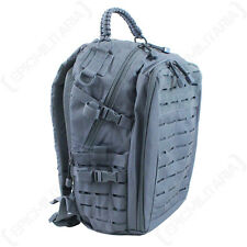 GREY LASER CUT Molle RUCKSACK 20L Regular Assault Pack BACKPACK Army