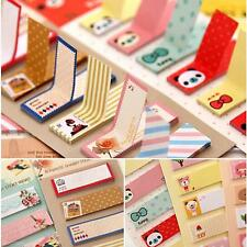 Stationery Sticker Bookmark Marker Memo Sticky Notes Office School Tool
