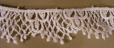 Very  Nice  White Flat  Lace  Sewing  trim (L-39)