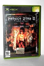 PROJECT ZERO II CRIMSON BUTTERFLY DIRECTOR'S CUT USATO XBOX ITALIANA FR1 32599