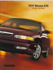 1997 MAZDA 626 SPORT SEDAN PROSPEKT BROCHURE CATALOGUE ENGLISCH (USA)