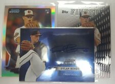dylan bundy RC lot! (2012 Sterling Auto, Finest RC, Topps Chrome Refractor RC!