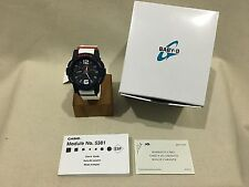 NWT CASIO BABY G-SHOCK WATCH BGA180-2B2 LIMITED ED. WHITE/RED/BLUE TIDE GRAPH