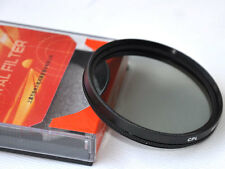 77mm CPL Glass Filter Circular Polarizing  Canon Nikon