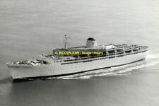 rp12328 - Italian Sitmar Liner - Fairstar , built 1957 - photo 6x4
