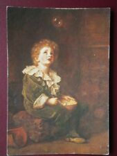 POSTCARD MEDICI SOC - SIR JOHN MILLAIS 'BUBBLES'