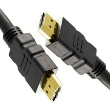 5m LONG HDMI Cable High Speed With Ethernet v1.4 FULL HD 4K 3D GOLD BLACK Lead