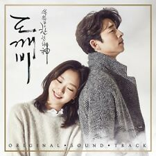 GOBLIN 도깨비 GONG YOO K-DRAMA OST Pack 1+2 SET CD + PHOTO BOOK + 2 FOLDED POSTER