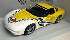 UT Models 1/18 Scale 30041 Chevrolet Corvette Pace Car Yellow Diecast model car
