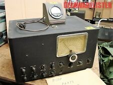 Military Radio US Coast Guard Shortwave Receiver R-138 R138 200 kc to 19 mc