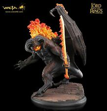 Weta The Lord of the Rings The Balrog - Demon of Shadow and Flame Statue New