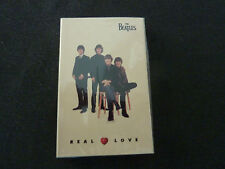THE BEATLES REAL LOVE RARE SEALED CASSINGLE IN CARD SLEEVE!