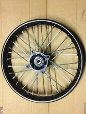 "NEW PIT BIKE 14"" WHEEL 140 X 14 SDG INCH BLACK STEEL 15MM SPINDLE"