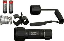 "NexTorch T6A LED Set Tactical 5"" Flashlight Kit Black 160 Lumens Water Res 6set"