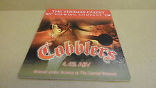 Thomas Guest Cobblers Ale beer Pump Clip face Bar Collectible 50
