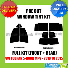 VW TOURAN 5-DOOR MPV 2010-2015 FULL PRE CUT WINDOW TINT