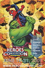 Michael Golden Signed Autographed Hulk Spiderman Art Poster Heroes Con Exclusive