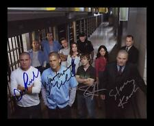 PRISON BREAK AUTOGRAPHED SIGNED & FRAMED PP POSTER PHOTO