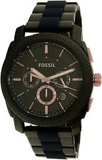 Fossil Men's FS5164 Black Stainless-Steel Quartz Watch