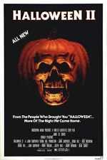 Halloween 2 Poster 01 Metal Sign A4 12x8 Aluminium
